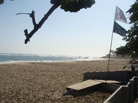 Agualina Kite Resort: Early morning beach