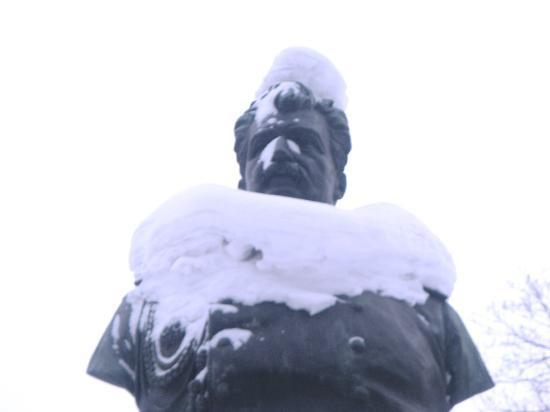 Nordhostel Hermitage: Snow