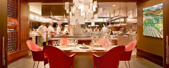 Allison Inn & Spa: The Chef's Table in the Jory kitchen