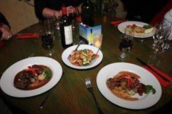 Zanellis Italian Restaurant : Lovely food