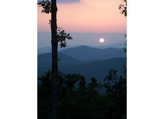Blue Ridge, Georgien: Nightly sunset