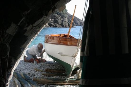 Genova, Italia: In San Fruttuoso.