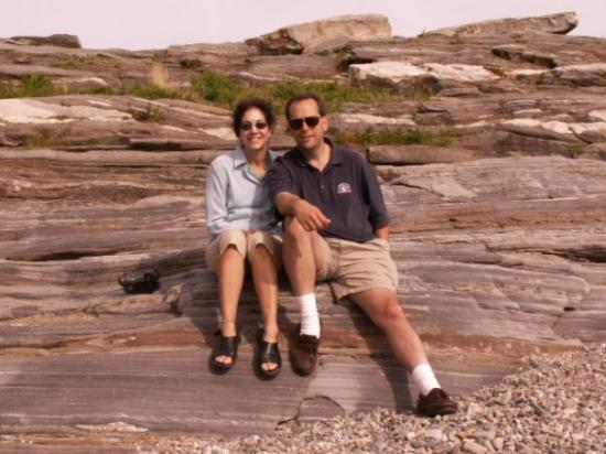 Damariscotta, ME: Melissa and Me at Pemaquid Maine