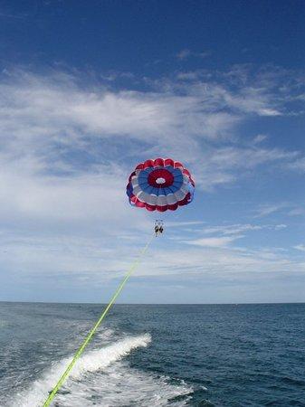 Key West Water Tours : Para-sailing