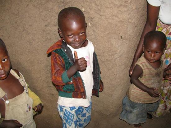 Kigali, Rwanda: Evode, The little boy I sponsor!