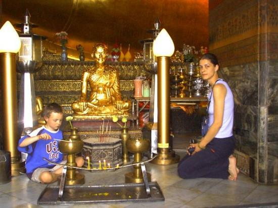 Bilde fra Wat Phra Kaeo-tempelet