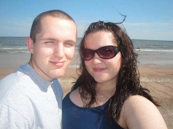 Port Arthur, TX: Larry and I at the Gulf