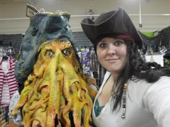 Beaumont, TX: Davy Jones...and...Jack Sparrow...lmao