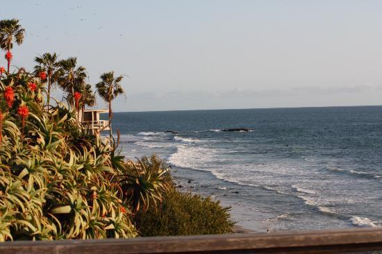 Laguna Riviera Beach Resort: View south from room 101