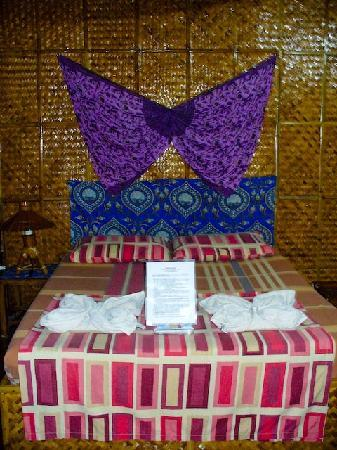 Frendz Resort and Hostel Boracay: comfy bed