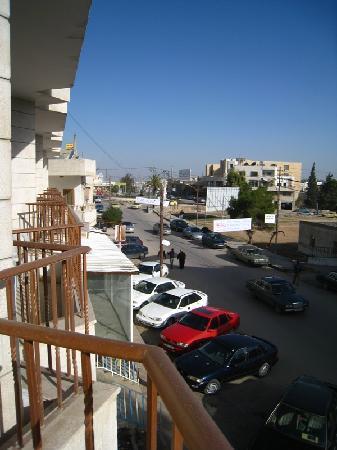 Mosaic City Hotel: Balcony view