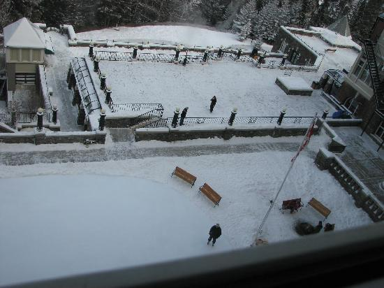 Small outdoor ice rink with fire to warm yourself picture of fairmont banff springs small outdoor ice rink with fire to warm yourself solutioingenieria Image collections