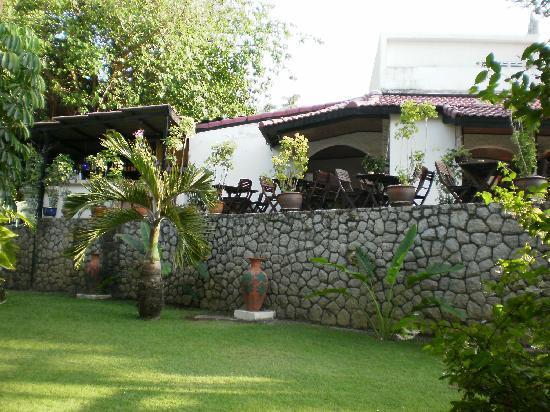 Kata Villa : Dejlige udsigt op til restauranten