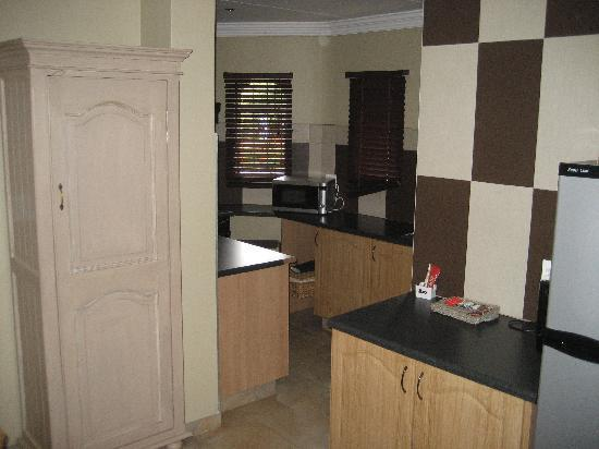Accommodation at Van's: Kitchen