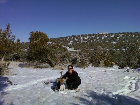 Montrose, CO: Diego and I enjoying the New Year!