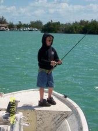 Jordan fishing bonefish bay in marathon florida keys for Fishing marathon fl