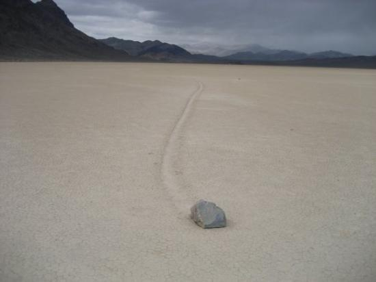 Death Valley National Park, CA: The Race Track.