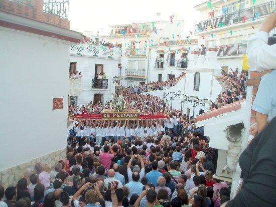 Periana, Ισπανία: Procesion de San Isidro 15 de Mayo, Fiesta Local