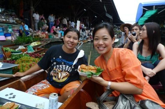 Bilde fra Damnoen Saduak Floating Market