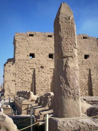 Karnak-tempelet: Luxor - Avenue of Sphinxes