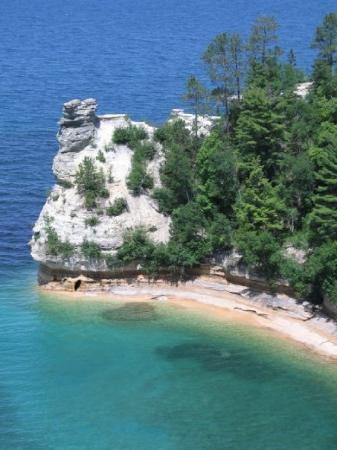 Pictured Rocks National Lakeshore: Miner's Castle, Lake Superior