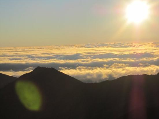 Haleakala National Park, HI: Nothing like being above the clouds