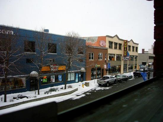 Садбери, Канада: Downtown, Sudbury (outside view of the apt.)