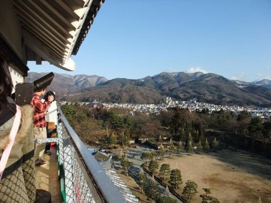 Tsuruga Castle : view from the castle