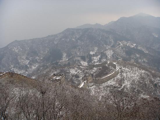 Den kinesiske mur ved Mutianyu: great wall view