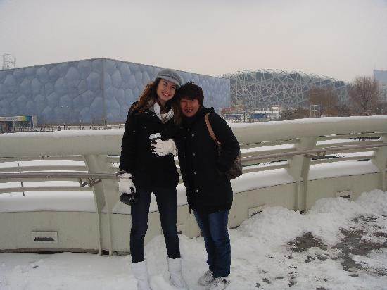 Den kinesiske mur ved Mutianyu: me and Yko