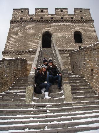 Den kinesiske mur ved Mutianyu: all together