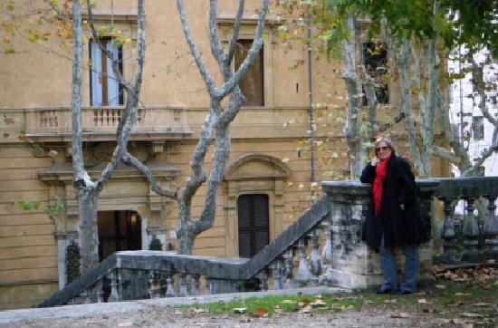 Villa Spalletti Trivelli: Unassuming exterior