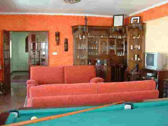 Sao Martinho do Porto, Portugalia: Lounge with pool table