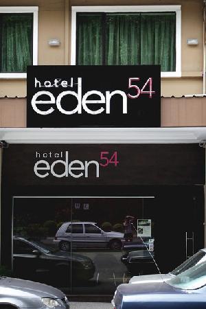 Hotel Eden54: Frontage