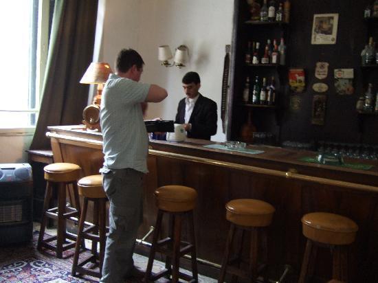 Baron Hotel: the bar