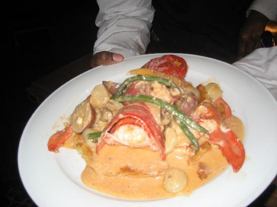 MGM Grand Detroit: Lobster Pot Pie at Saltwater