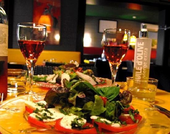 La Pizzetta : Salade de tomates mozzarella