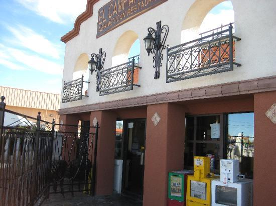 EL CAMPANARIO RESTAURANT: Outside view from Cerrillos Rd