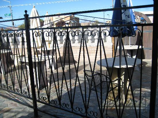 EL CAMPANARIO RESTAURANT: Outside dining