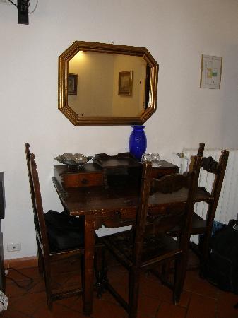 All perpose table - Picture of Soggiorno Panerai, Florence ...