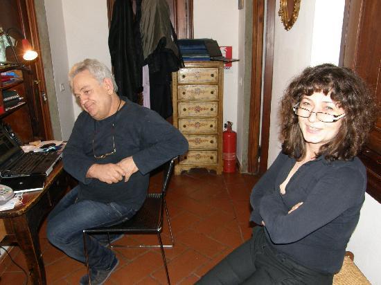 Albena and Walter - Picture of Soggiorno Panerai, Florence ...