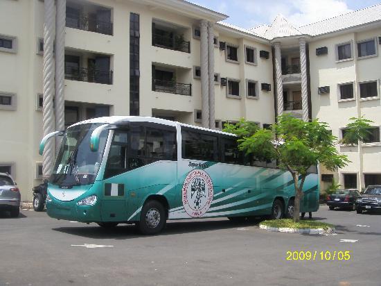 Abuja, Nigeria: Bolton white Apartment