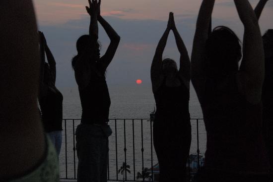 davannayoga: Sunset Yoga Classes on the sunset terrace