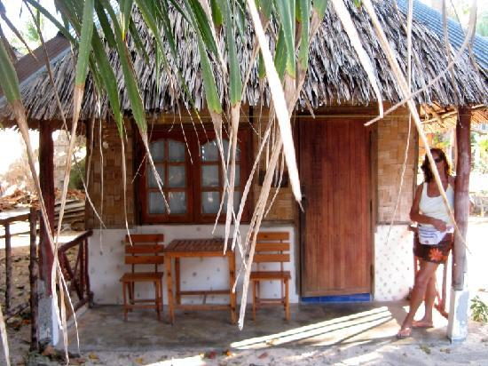 Blue Sky Beach Bungalow: view from basic bungalow