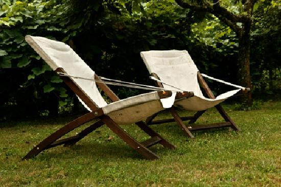 La Vitusa country bed & breakfst: Relax in giardino