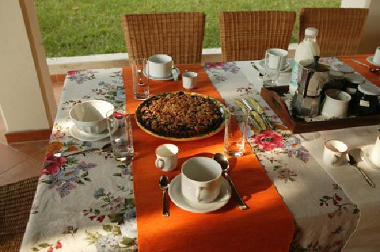 La Vitusa country bed & breakfst: Una prima colazione sana e genuina