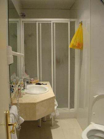 Hotel Regente: Baño