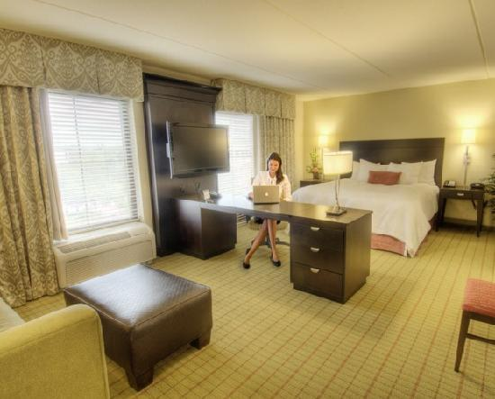 Hampton Inn & Suites Gainesville-Downtown: The hotel features 124 well appointed, professionally decorated guest rooms and suites featuring