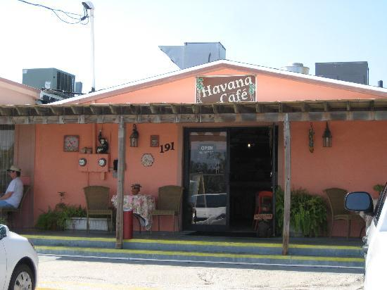 Chokoloskee, Floryda: Havana Cafe Front