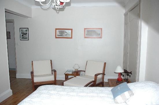 """Villa Vent d'Bout: chambre """"Vent Arrière"""""""